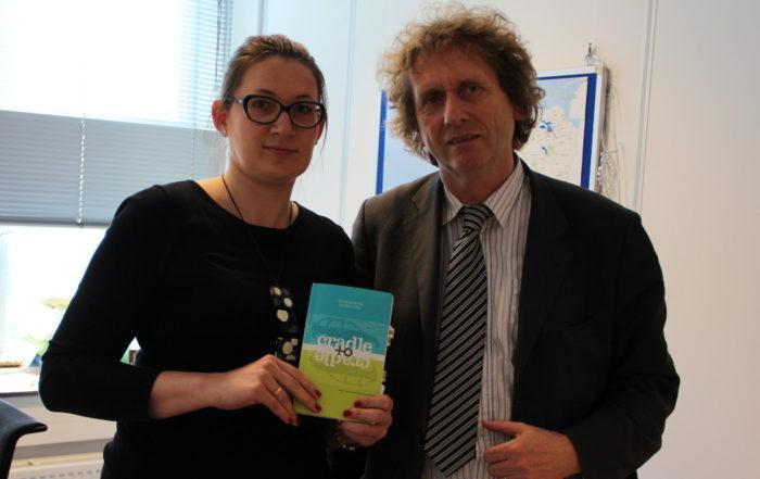 Katarzyna Michniewska spotkanie z prof Michaelem Branugartem