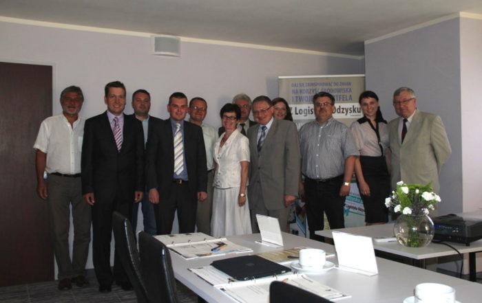Katarzyna Michniewska spotkanie rady naukowej czasopisma Logistyka Odzysku