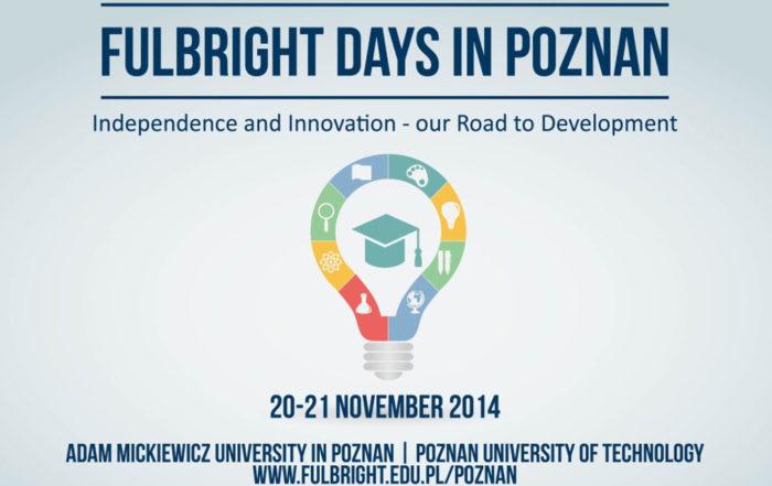 Katarzyna Michniewska Fulbright Days in Poznań