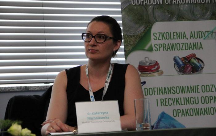 Katarzyna Michniewska III edycja Konferencji Logistyka Odzysku 2