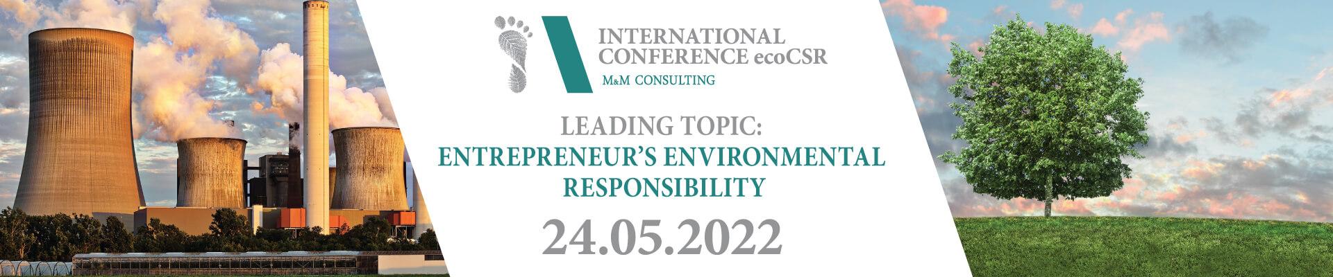 Międzynarodowa Konferencja ekoCSR 2022 - EN
