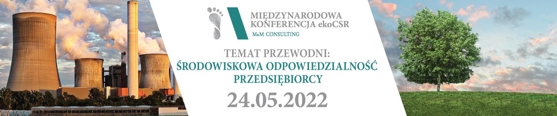 Międzynarodowa Konferencja ekoCSR 2022 - PL