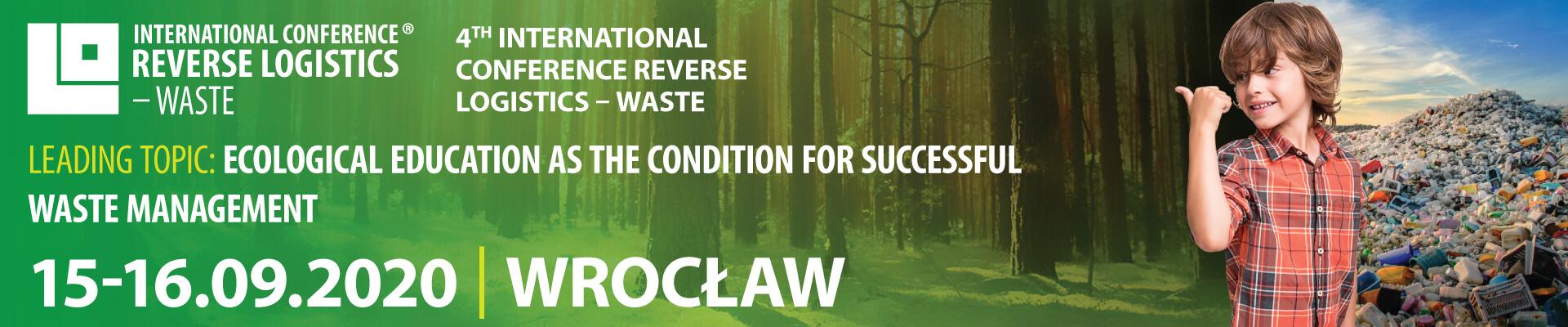 Międzynarodowa Konferencja Logistyka Odzysku - Odpady 2020 - EN