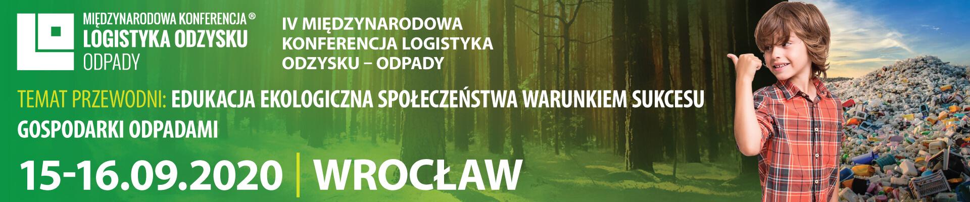 Międzynarodowa Konferencja Logistyka Odzysku - Odpady 2020 - PL