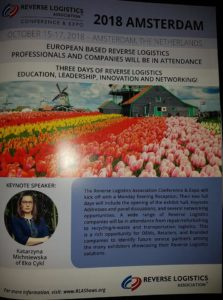 Konferencja Reverse Logistics w Amsterdamiee