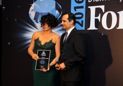 Gala Diamenty Forbes'a -  Eko Cykl Organizacja Odzysku S.A. laureatem rankingu.