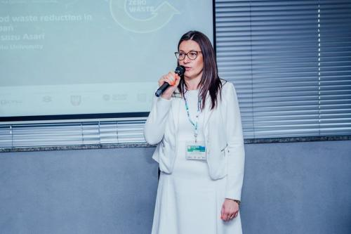 Official opening the 7<sup>th</sup> International Conference Reverse Logistics – Packaging  by dr Katarzyna Michniewska