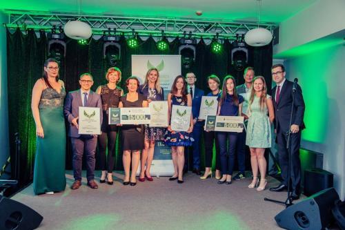 Laureaci Konkursu Przedsiębiorca Efektywny Surowcowo 2017