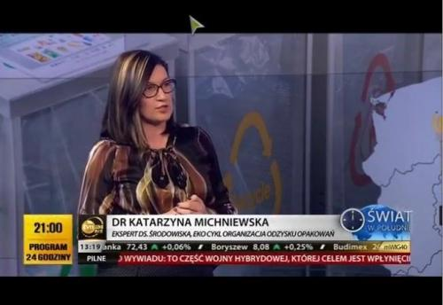 Katarzyna Michniewska w TVN24 bis